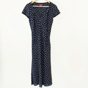 Sundance Silk Floral Midi Length Dress